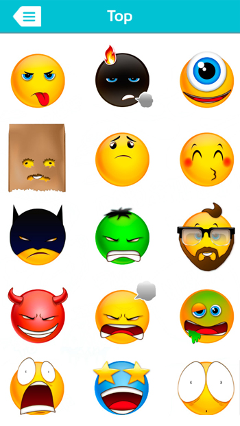 What the Face! Free Emoticons for WhatsApp